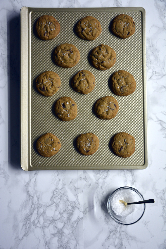 Maldon Sea Salt Flakes Chocolate Chip Cookie Recipe