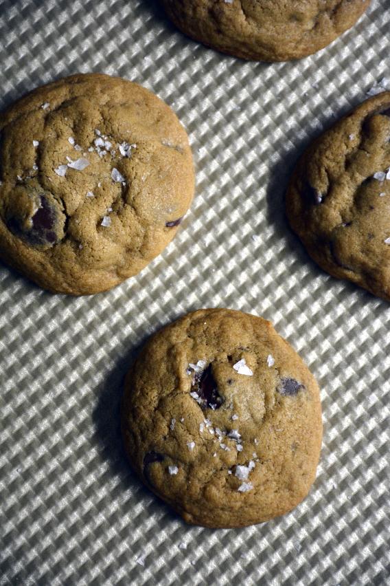 Sea Salt Chocolate Chip Cookie Recipe from Sed Bona