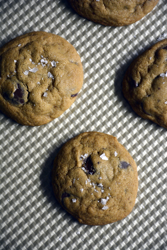 Sea Salt Chocolate Chip Cookie Recipe from Sed Bona