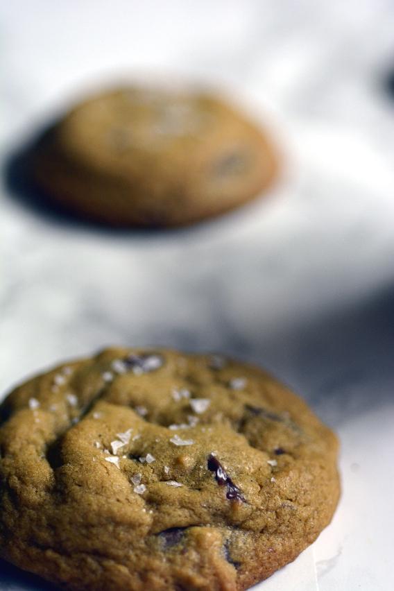 Favorite Sea Salt Chocolate Chip Cookies