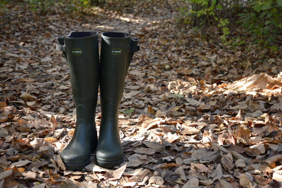 Le Chameau Green Wellies