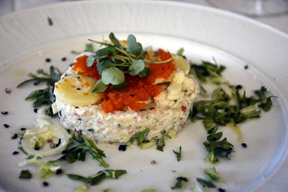 Celebrity Millennium Blu Crab Salad
