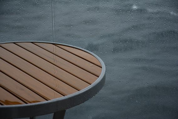 Celebrity Millennium Rainy Balcony