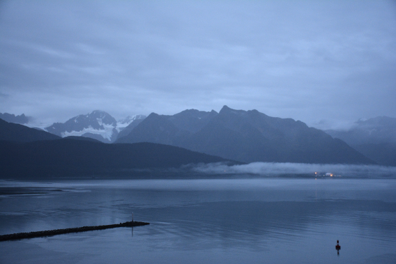 Early Morning Cruise Port Seward