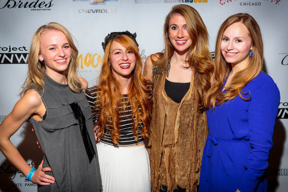 Kate Pankoke Red Carpet Chicago Launch Party