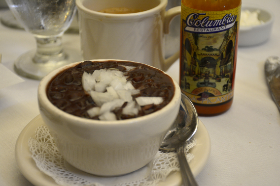 Columbia Restaurant Cuban Black Bean Soup