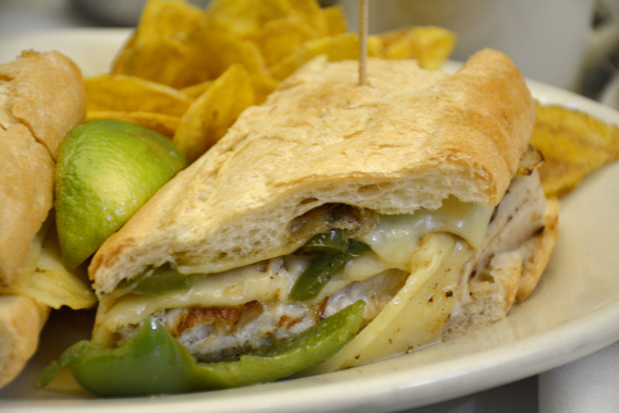 Columbia Restaurant Mahi Mahi Cubana Sandwich