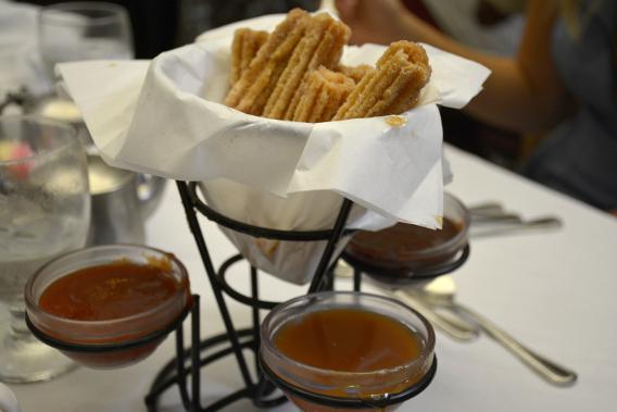 Columbia Restaurant Churros Tres Amigos