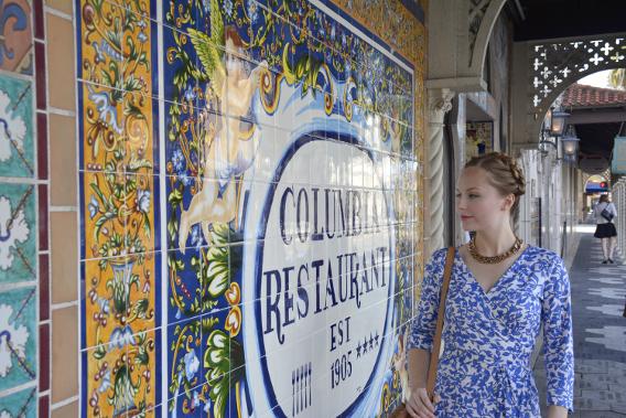 Columbia Restaurant Established 1905 Front Sign