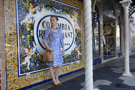 Columbia Restaurant Outfit inspired by Spanish tiles