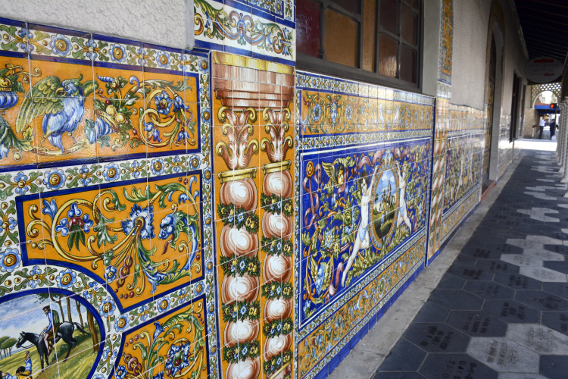 Beautiful Spanish Tiles in Florida