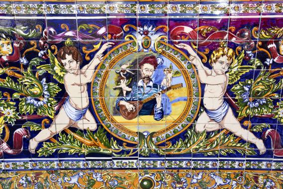 Spanish Tile Mosaics Ybor City