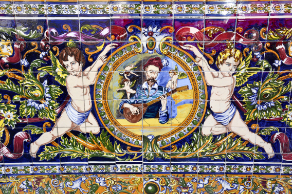 Spanish Tile Mosaics Ybor City