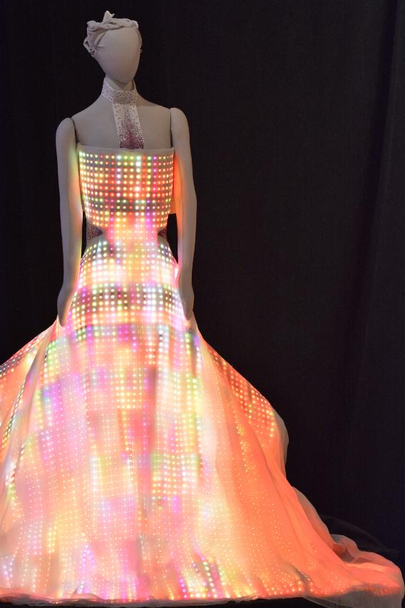 CuteCircuit Galaxy Dress