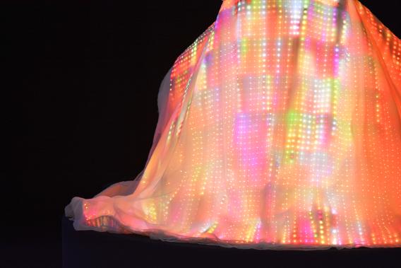 Chicago's CuteCircuit Galaxy LED Dress