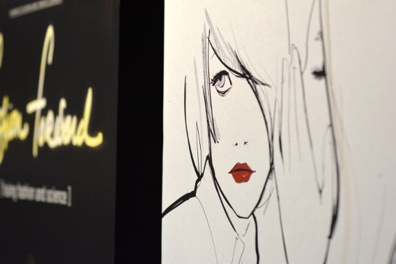 Garance Doré Illustrations at Chicago's Museum of Science and Industry