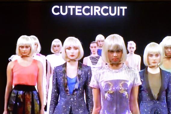 CuteCircuit A/W 14/15 New York Fashion Week Runway Show