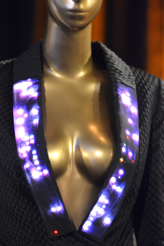 CuteCircuit Black LED Tuxedo Jacket