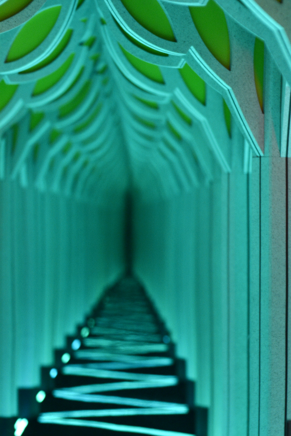 Museum of Science and Industry's Mirror Maze 2