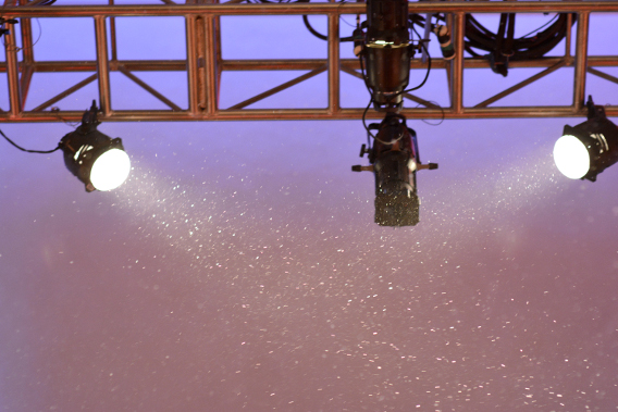 Snow at the Museum of Science and Industry