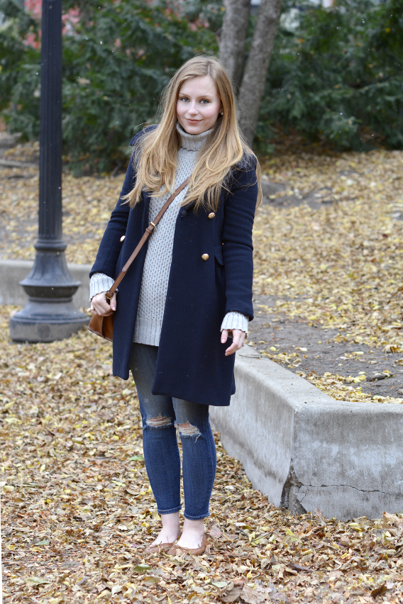 Barbour Sweater Jumper Outfit