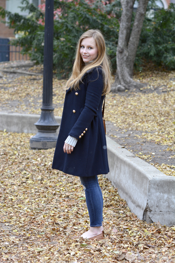 Sed Bona Chicago November Outfit
