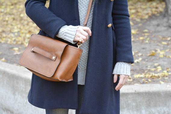 Zara Tan Crossbody Messanger Bag