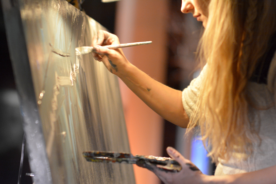 Paint Your Event Sofitel Chicago 2014
