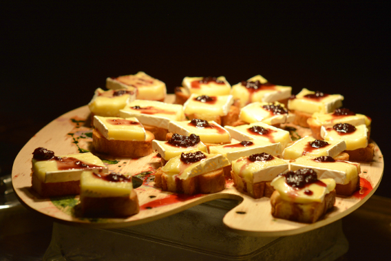 Sofitel Chicago Brie Appetizers