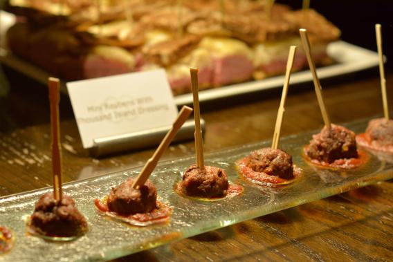 Sofitel Chicago Meatball Appetizer