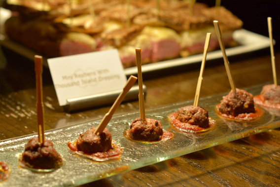 Sofitel Chicago Meatball Appetizer