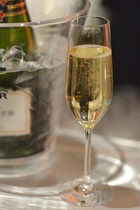 Champagne at the Sofitel Chicago