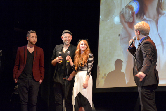 Kate Pankoke and Justin LeBlanc Chicago Launch