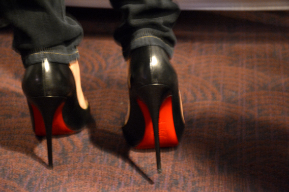 Christian Louboutins at Project Runway Launch Party