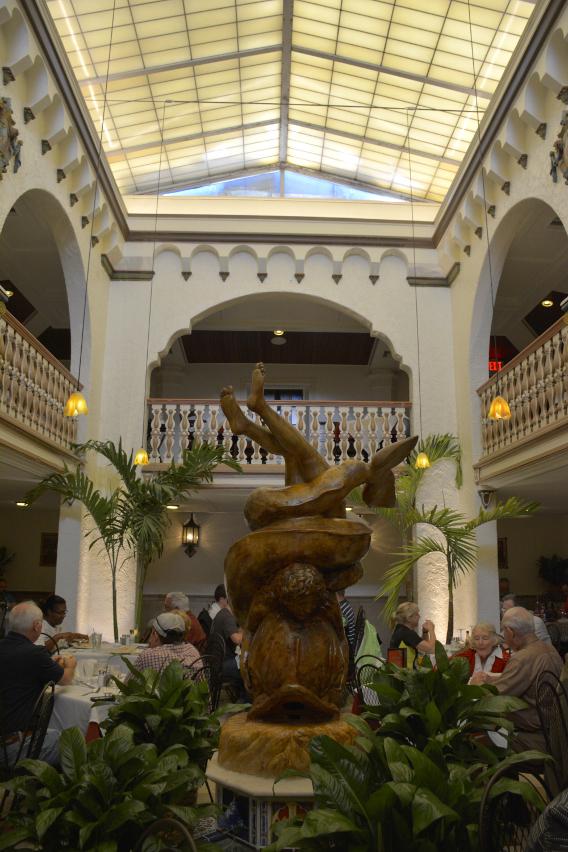 Columbia Restaurant Ybor City Florida Atrium