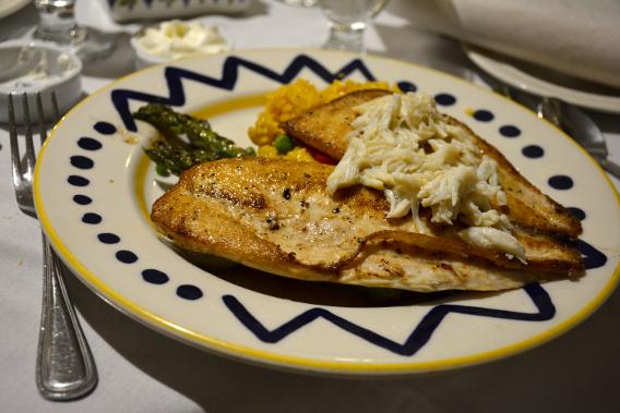 "Columbia Restaurant Pompano ""Lido Key"" Fish"
