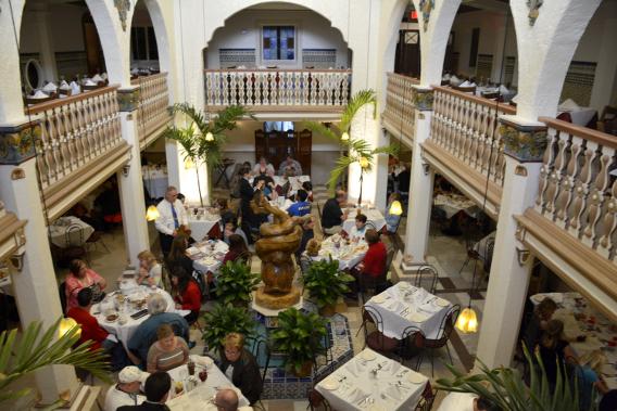 Ybor City Columbia Restaurant Atrium