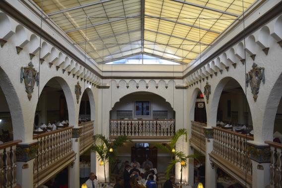 Ybor City Columbia Restaurant Atrium Roof