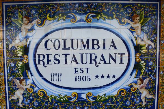 Columbia Restaurant Ybor City Established 1905