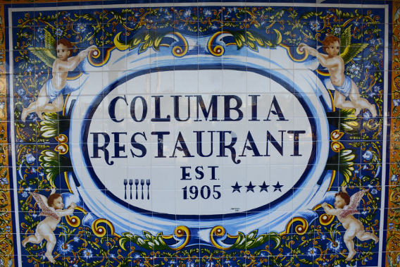 Columbia Restaurant Ybor City Established 1905