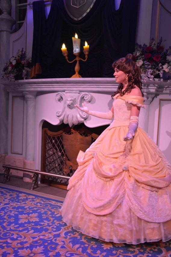 Belle at Disneyworld Florida