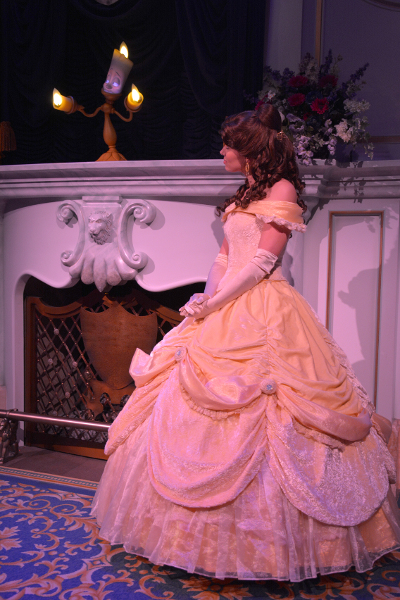 Disney's Belle and Lumiere
