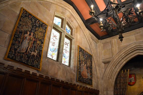Inside Disneyworld's Magic Kingdom Cinderella's Castle