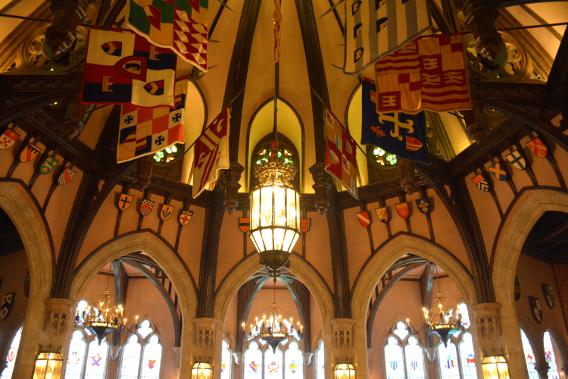 Cinderella's Royal Table Restaurant Castle Magic Kingdom 2