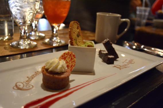 Dessert at Cinderella's Castle Magic Kingdom