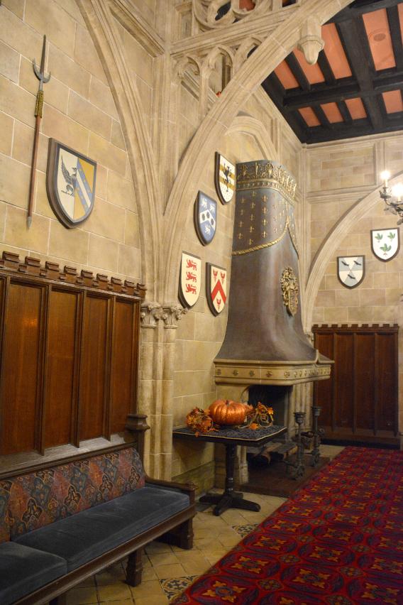 Inside Cinderella's Castle at Magic Kingdom