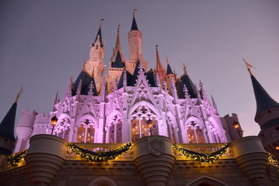 Disneyworld Cinderella's Castle
