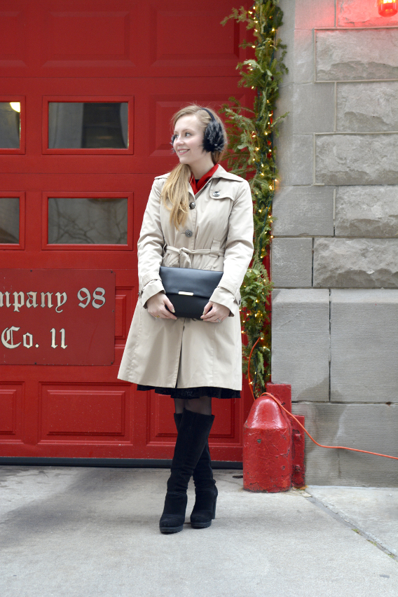 Christmas Trench Coat 4