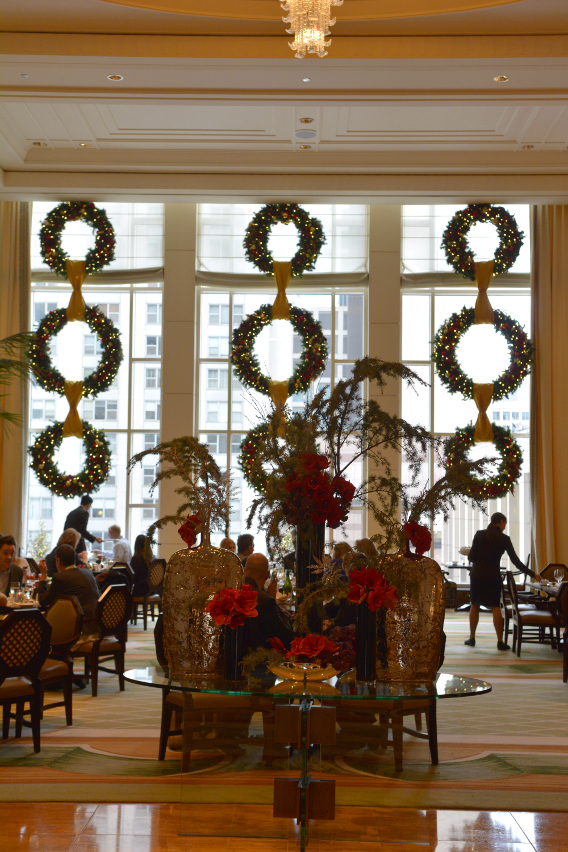 Holiday Afternoon Tea at the Peninsula Chicago