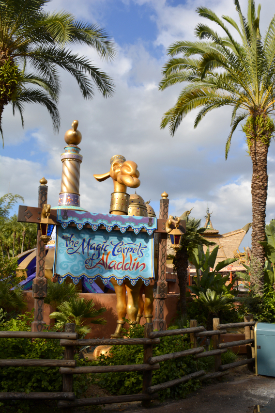 The Magic Carpets of Aladdin Ride